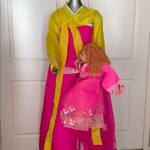 Korean Hanbok Traditional Formal Costume Dress